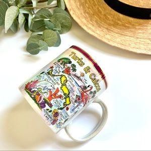 Turks & Caicos Island Opal Iridescent Coffee Mug